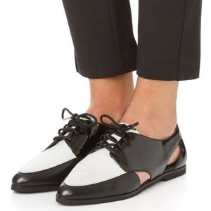MICHAEL Michael Kora Jensen Patent-Leather Oxford